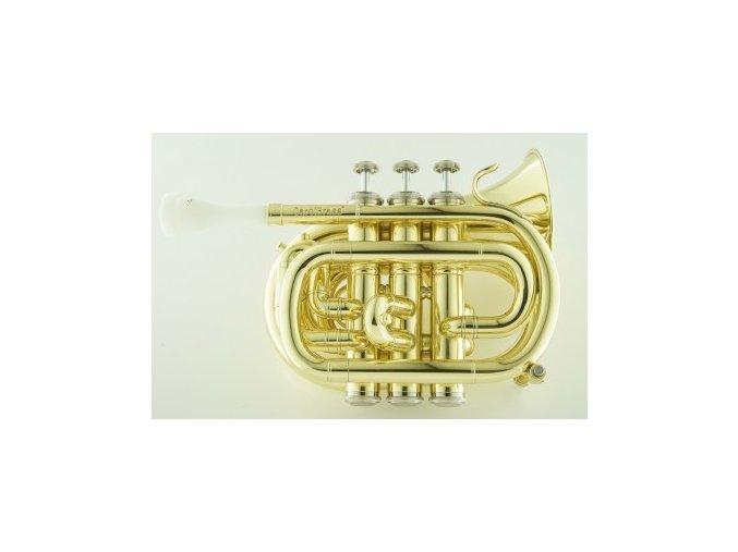 carolbrass cpt 1000 yss bb l mini pocket trumpet
