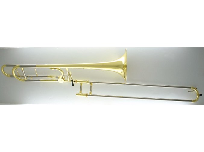 Carol Brass CTB-2227-GST-YNNN-Y3, Bb/F trombon tahový s kvartou, zlatomosazný