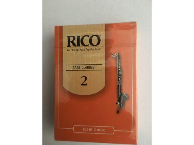 RICO ROYAL tvrdost 2 plátek pro Bass Klarinet - REA 1020
