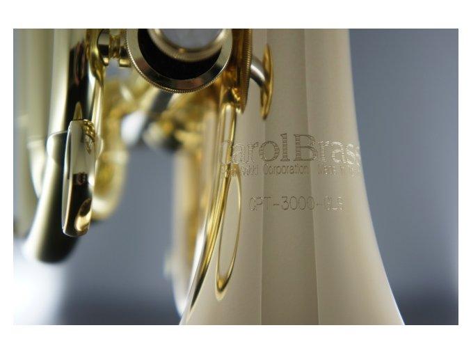 Carol Brass CPT-3000-GLS-Bb-L -kapesní Bb Trubka