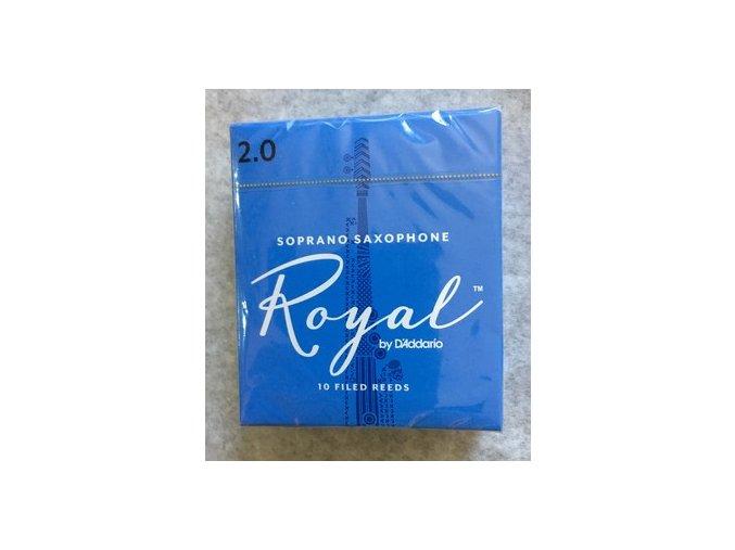 Rico Royal 1,5 plátky pro Sopran saxofon - RIB1015