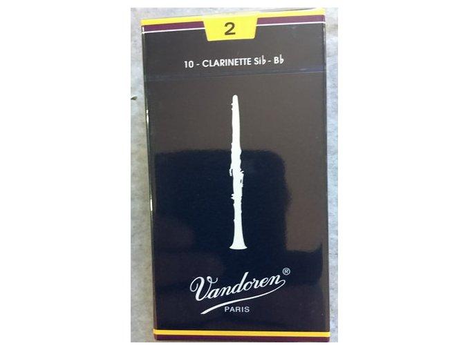 Vandoren Traditional plátky pro B klarinet 2