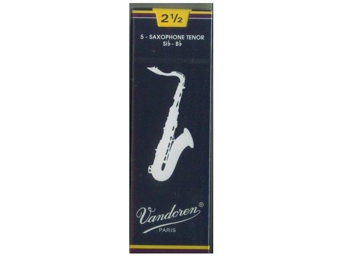 Vandoren Traditional plátky pro Tenor saxofon 2 1/2