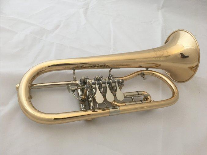 M.Jiracek model 181GL - B křídlovka, cylindrová zlatomosazná lakovaná