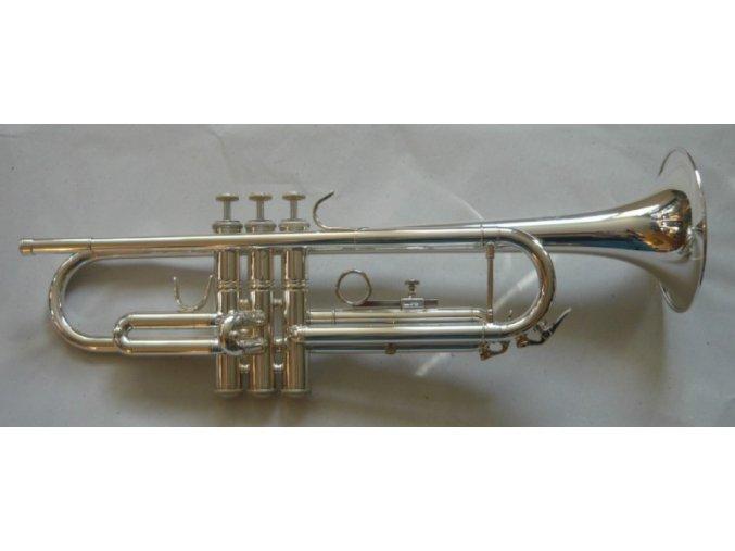 M.Jiracek model 134 S - B trumpeta perinetová, stříbrná