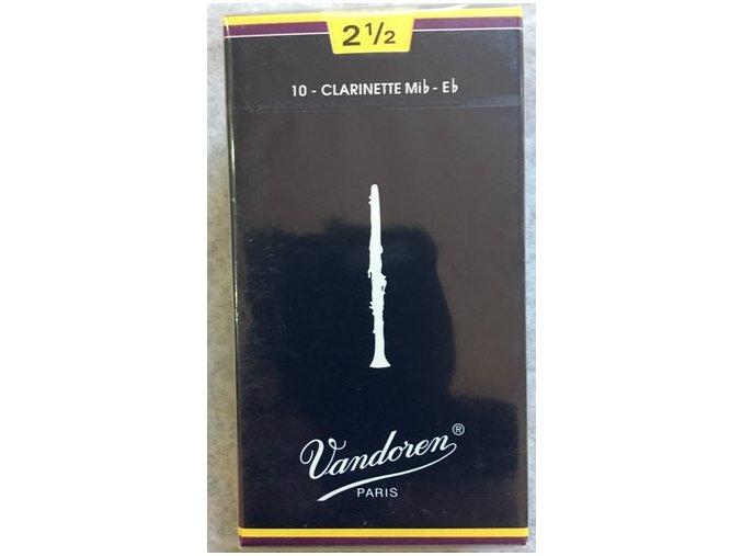 Vandoren Traditional plátky pro Es klarinet 2 1/2