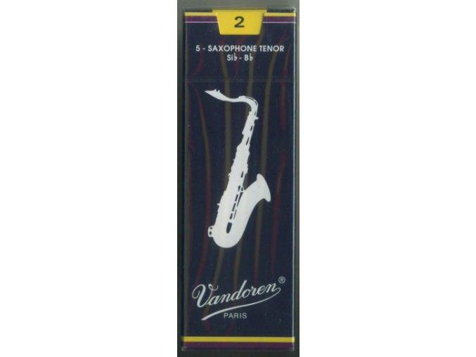 Vandoren Traditional plátky pro Tenor saxofon 3