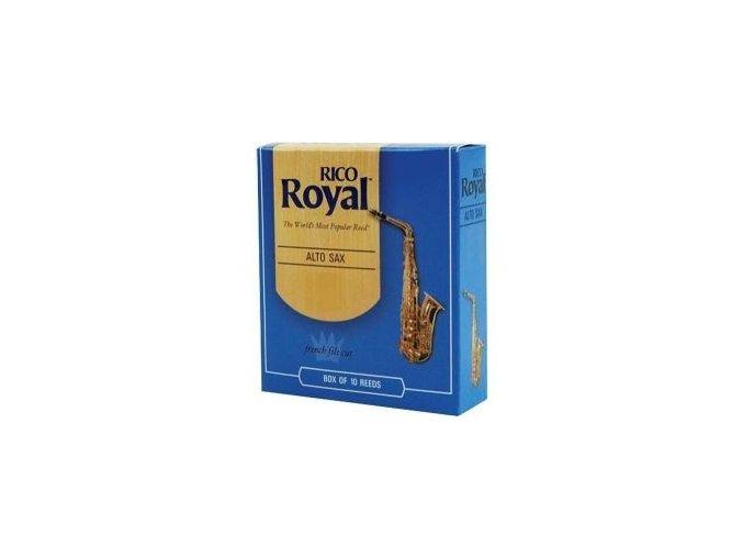 Rico Royal tvrdost 1 plátky pro altový saxofon - RJB1010