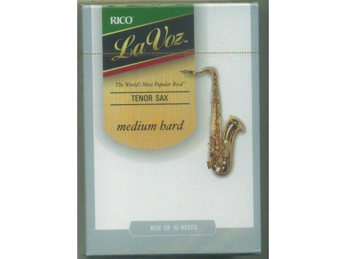 Rico La Voz - Medium hard plátek pro tenor saxofon RKC10MH