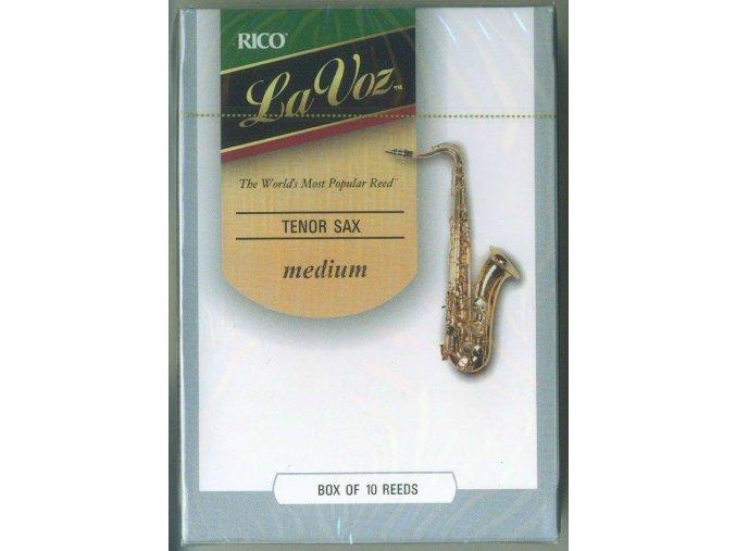 Rico La Voz- Medium plátek pro tenor saxofon  RKC10MD