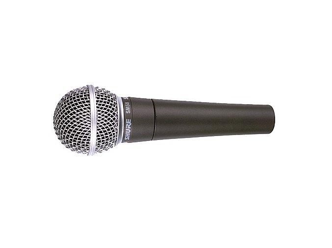 Shure SM58SE, mikrofon dynamický s vypínačem