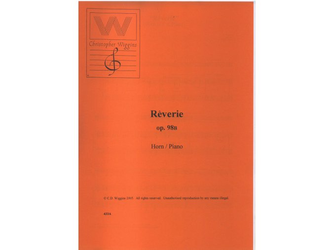 Reverie op. 98B (Horn/piano) - Christopher D. Wiggins