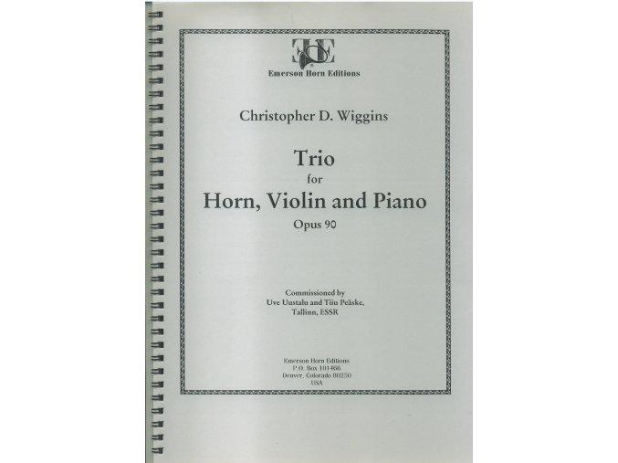 Trio op.90 (lesní roh/housle/piano) - C.D.Wiggins