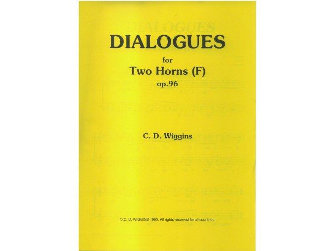 Dialogues op.96 (dueto pro lesní rohy) - C.D.Wiggins