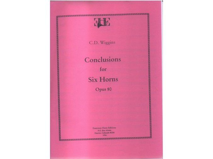 """""""Conclusions"""" op.80 - C.D.Wiggins"""