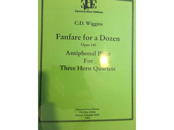 """""""Fanfare for Dozen"""" op.140 - C.D.Wiggins"""
