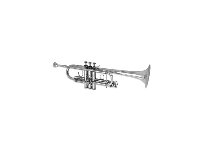 BS 3136/2-S Challenger II C trumpeta profesionání postříbřená