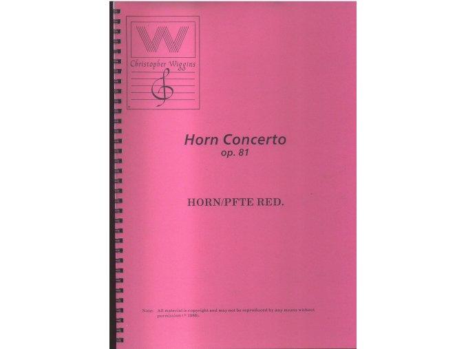 Horn Concerto op.81 - Christopher Wiggins