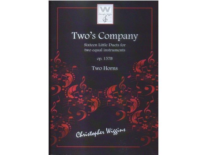 Two´s Company - op.157B -CH. Wiggins