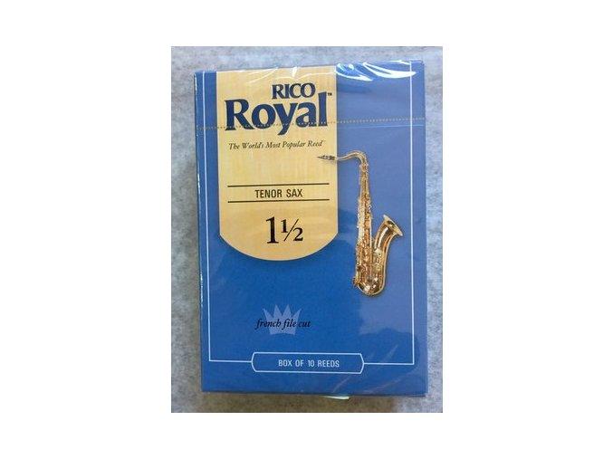 Rico Royal tvrdost 1 1/2 plátky pro tenorový  saxofon - RKB1015