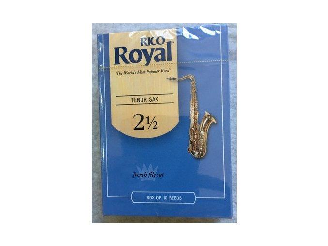 Rico Royal tvrdost 2,5  plátky pro tenorový  saxofon - RKB1025