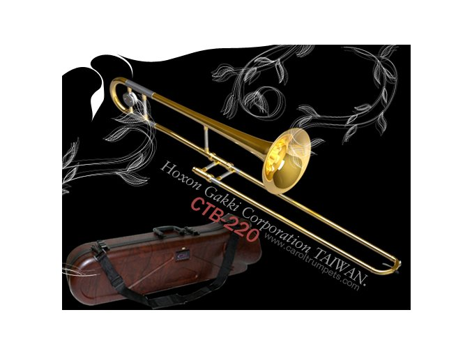 CAROL Brass CTB 3207LN, trombon tahový, Pa snížec