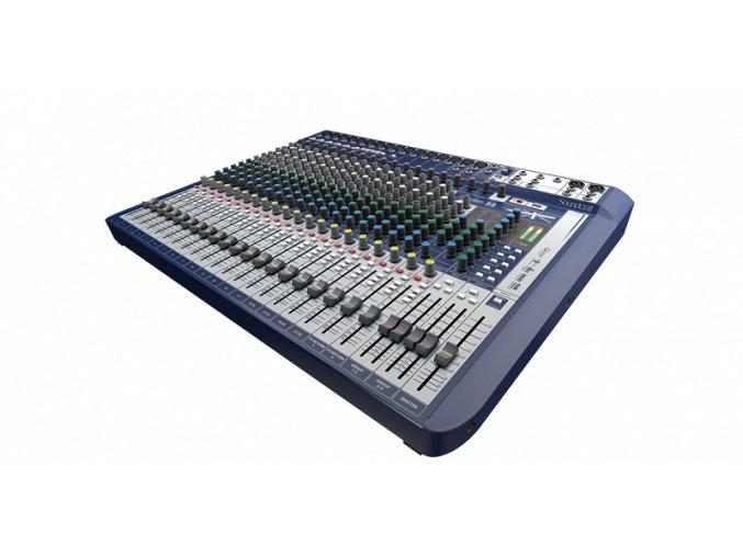 Soundcraft Signature 22, mixážní pult 22 in