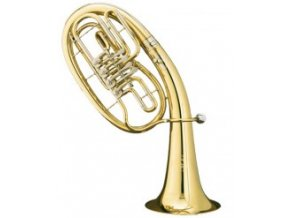 B&S 33/2-L - Bb tenor , 4 ventilový cylindrový,  B kus, předváděcí nástroj!