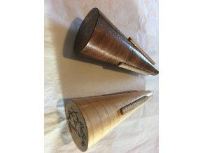 Dusítko koncertní pro trubku dřevěné  ručně vyráběné z Řecka