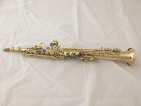 Belltone BSST-910 soprano sax - soprán Bb saxofon , rovné provedení, lakovaný