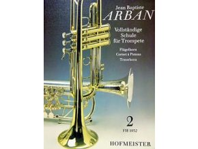 J.B.Arban, škola pro trumpetu, křídlovku a tenor.