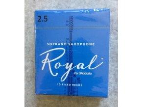 Rico Royal 2,5 plátky pro Sopran saxofon - RIB