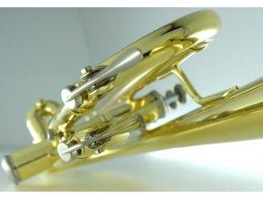 CAROL Brass CTR-3050H-GSS-S, Bb trumpeta perinetová postříbřená