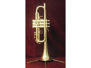 M.Jiracek model 136S/C - C trumpeta postříbřená