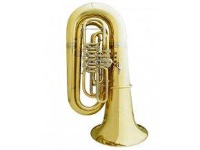 BS GR51-L Bb Tuba profesionální cylindrová  4 ventilová 4/4