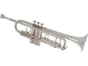 B&S 3137-S Challenger1 - Bb trumpeta perinetová, postříbřená