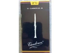 Vandoren Traditional plátky pro B klarinet 2 1/2