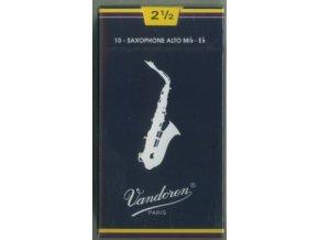 Vandoren Traditional plátky pro Alt saxofon 2 1/2, classic