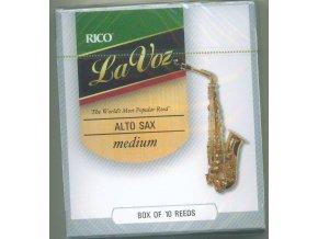 Rico La Voz - Medium plátek pro Alt saxofon