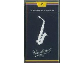 Vandoren Traditional plátky pro Alt saxofon 3, classic