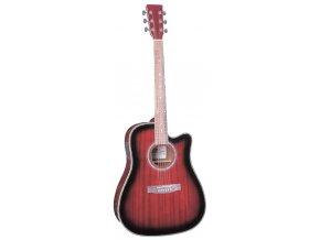 Elektroakustická kytara Belltone BAG-09