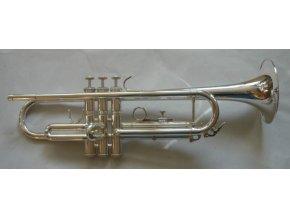 M.Jiracek  & sons model 134 S - B trumpeta perinetová, stříbrná  , 3 roky záruka!