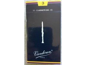 Vandoren Traditional plátky pro Es klarinet 3