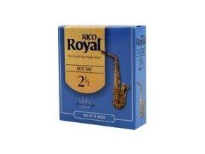 Rico Royal tvrdost 2,5 plátky pro altový saxofon - RJB