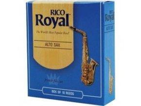 Rico Royal tvrdost 1 plátky pro altový saxofon - RJB