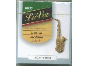 Rico La Voz - Medium hard plátek pro Alt saxofon