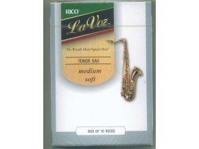 Rico La Voz - Medium soft plátek pro tenor saxofon RKC10MH