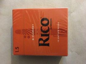 RICO ROYAL tvrdost 1 1/2 plátek pro Bb Klarinet - RCB