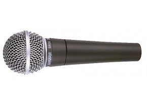 Shure SM58-SE, mikrofon dynamický s vypínačem