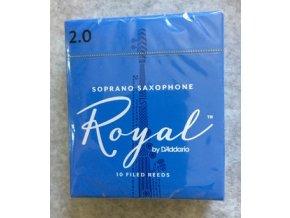 Rico Royal 2 plátky pro Sopran saxofon - RIB1020